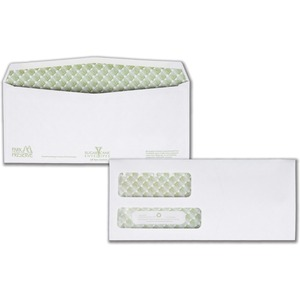 Quality Park Sugarcane Paper Double Window Envelopes QUA24534