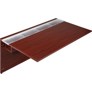 Lorell Concordia Laminate Desk Ensemble LLR81910