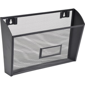 Lorell Black Mesh/Wire Wall Pocket LLR84144