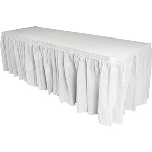 Genuine Joe Linen-like Table Skirts GJO11915