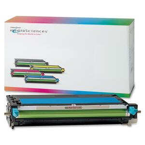Media Sciences Toner Cartridge - Remanufactured for Xerox (106R01392) - Cyan MDA39412