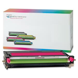 Media Sciences Toner Cartridge - Remanufactured for Xerox (106R01393) - Magenta MDA39413