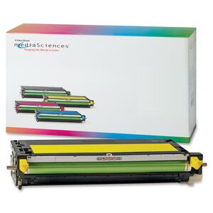 Media Sciences Toner Cartridge - Remanufactured for Xerox (106R01394) - Yellow MDA39414