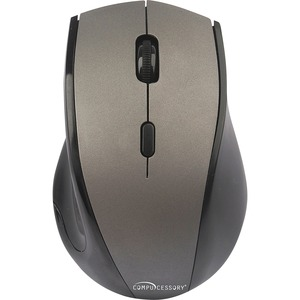 Compucessory Wireless Mouse, 2.4G, Gray CCS51556
