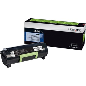 Lexmark 501H High Yield Return Program Toner Cartridge LEX50F1H00