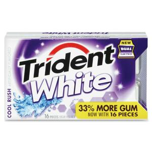 Trident Cool Rush White Gum CDB67638