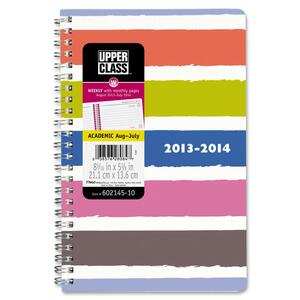 At-A-Glance Upper Class Dots/Stripes Academic Planner AAG60214510