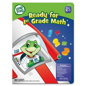 The Board Dudes First-grade Math WorkbookActivity Printed Book BDU19402UA24