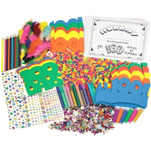 ChenilleKraft 100th Day Of School Activity Box CKC1737