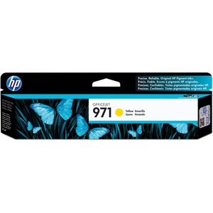 HP 971 Yellow Original Ink Cartridge HEWCN624AM