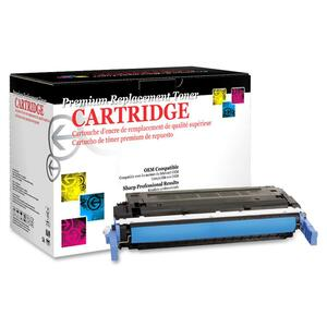 West Point Products Reman Cyan Toner Cartridge, 8000 Pgs WPP200166P