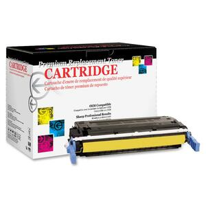West Point Products Toner Cartridge - Remanufactured for HP (C9722A) - Yellow WPP200168P