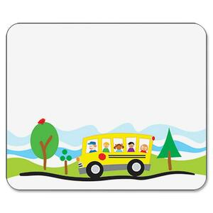 Carson-Dellosa Self-Adhesive School Bus Name Tag CDP150008