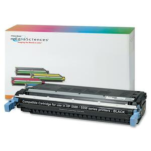 Media Sciences Toner Cartridge - Replacement for HP (645A) - Black MDA39259