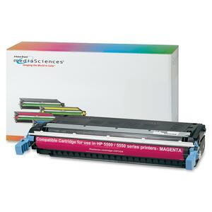 Media Sciences Toner Cartridge - Replacement for HP (645A) - Magenta MDA39261