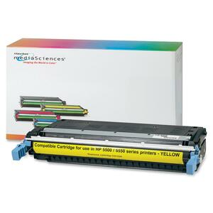 Media Sciences Toner Cartridge - Replacement for HP (645A) - Yellow MDA39262