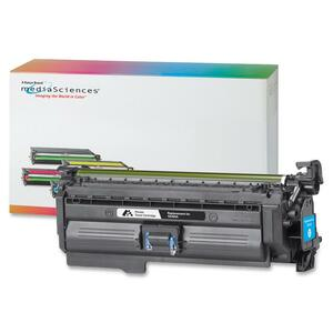 Media Sciences Toner Cartridge - Replacement for HP (CE261A, CE263A) - Cyan MDA39727