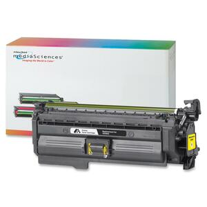 Media Sciences Toner Cartridge - Replacement for HP (CE262A) - Yellow MDA39729