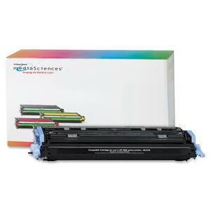 Media Sciences Toner Cartridge - Replacement for HP (124A) - Black MDA39829