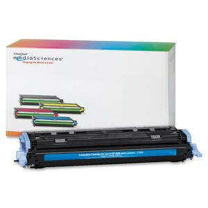 Media Sciences Toner Cartridge - Replacement for HP (124A) - Cyan MDA39830