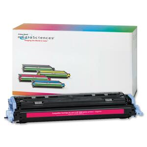Media Sciences Toner Cartridge - Replacement for HP (124A) - Magenta MDA39831