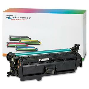 Media Sciences Toner Cartridge - Replacement for HP (504X) - Black MDA39833