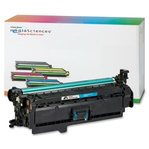 Media Sciences Toner Cartridge - Replacement for HP (504A) - Cyan MDA40921