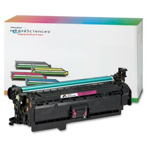 Media Sciences Toner Cartridge - Replacement for HP (504A) - Magenta MDA40922