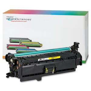 Media Sciences Toner Cartridge - Replacement for HP (504A) - Yellow MDA40923