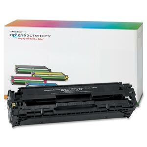 Media Sciences Toner Cartridge - Replacement for HP (CB540A) - Black MDA40928
