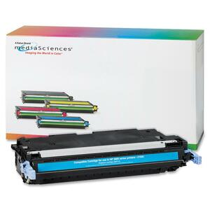 Media Sciences Toner Cartridge - Replacement for HP (502A) - Cyan MDA40967
