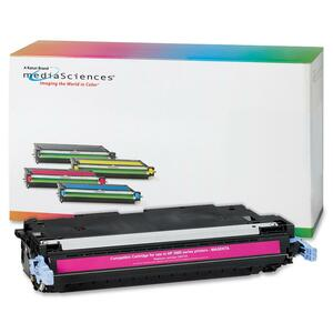 Media Sciences Toner Cartridge - Replacement for HP (502A) - Magenta MDA40968