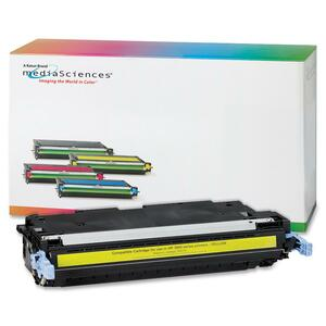 Media Sciences Toner Cartridge - Replacement for HP (502A) - Yellow MDA40969