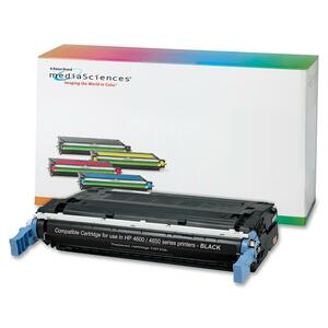 Media Sciences Toner Cartridge - Replacement for HP (641A) - Black MDA40996