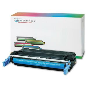 Media Sciences Toner Cartridge - Replacement for HP (641A) - Cyan MDA40997