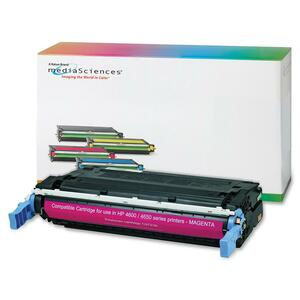 Media Sciences Toner Cartridge - Replacement for HP (641A) - Magenta MDA40998