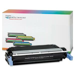 Media Sciences Toner Cartridge - Replacement for HP (643A) - Black MDA41004