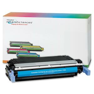 Media Sciences Toner Cartridge - Replacement for HP (643A) - Cyan MDA41005