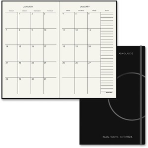 At-A-Glance Two-Page-Per-Month Monthly Planner AAG706S1205