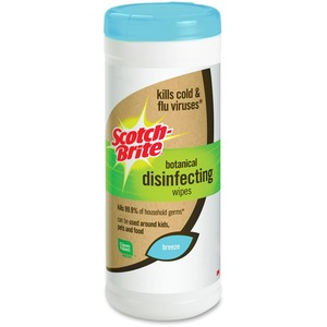 Scotch-Brite Botanical Disinfecting Wipes MMMDWB35A9