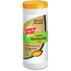 Scotch-Brite Botanical Disinfecting Wipes MMMDWL35A9