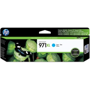 HP 971XL High Yield Cyan Original Ink Cartridge HEWCN626AM