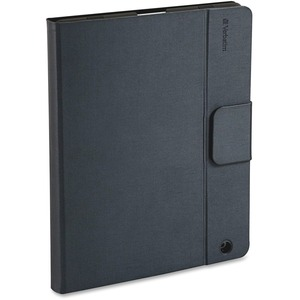 Verbatim Keyboard/Cover Case (Folio) for iPad - Gray VER98021