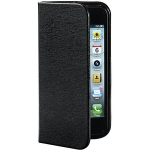 Verbatim Carrying Case (Folio) for iPhone 5/5S - Liquorice Black VER98090