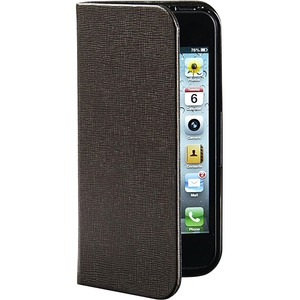 Verbatim Carrying Case (Folio) for iPhone 5/5S - Mocha Brown VER98088