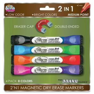The Board Dudes Double-sided Magnetic Marker BDU14002VA24