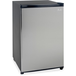 Avanti Model RM4536SS - 4.5 CF Counterhigh Refrigerator - Black w/Stainless Steel Door AVARM4536SS