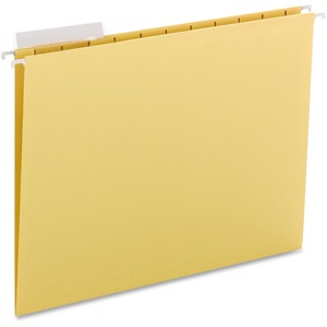 Smead 64025 Yellow Hanging File Folders SMD64025