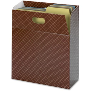 Smead 92000 Brown Organized Up MO Vertical File Case SMD92000