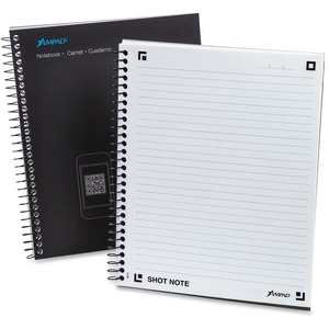 "Ampad 9.5"" x 7.75"" Notebook-Medium Ruled ESS25110"